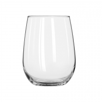 WINE, 17 OZ WHITE, STEMLESS (1