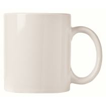 MUG, COFFEE, 12 OZ BRIGHT WHI