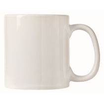 MUG, COFFEE, 16 OZ BRIGHT WH