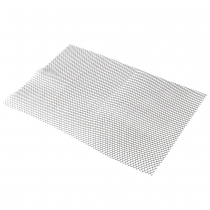 SHELF MESH, CLEAR, 2' X 10' RO