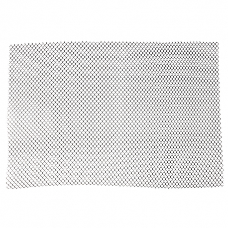 SHELF MESH, BLACK, 2' X 10' RO