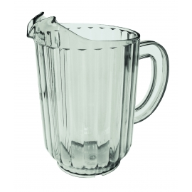 60 OZ CLEAR SQUAT POLYCARBONATE PITCHER (EACH)