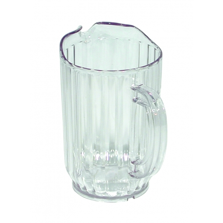 PITCHER, 32 OZ, CLEAR SQUAT WP