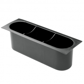 3-SECTION BLACK ICE BIN INSERT (EACH)