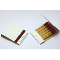 MATCHES, PLAIN  BOOKS,  WHITE,