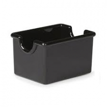 SUGAR CADDY, PLASTIC, BLACK, H