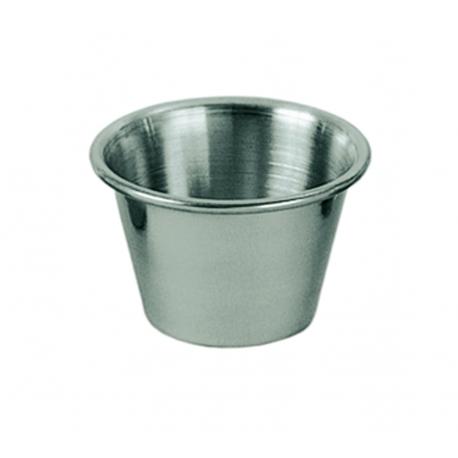 SAUCE CUP, S/S RAMIKIN,  2.5 O