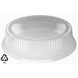 "DOUGLAS STEPHEN LH12STAK, 12"" CLEAR PLASTIC LID, FOR 12"" TRAYS (25/Case)"