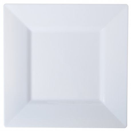 PLATE PLASTIC WHITE 6.5 SQ  sc 1 st  CBS Distributing & FINELINE 6.5\
