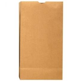 """DURO PAPER BAG, 1 LB, KRAFT, 3.5"""" x 2.375"""" x 6.875"""" - 4,000 PER BUNDLE"""