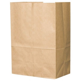 "DURO PAPER BAG, 1/6 BARREL SACK, KRAFT, 12"" X 7"" X 17"" - 500 PER PACK"