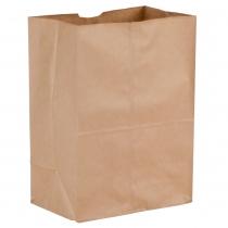 "BAG, PAPER, 1/8 KRAFT, 10.5"""" X"