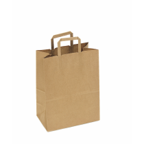 BAG, PAPER, KRAFT, HANDLED, 1/