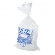"BAG, PLASTIC, PRINTED, """"ICE"""""
