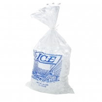 "BAG, PLASTIC, PRINTED, """"ICE"""""