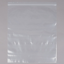 BAG, PLASTIC, 2 GAL ZIP CLOSUR