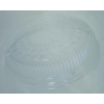 LID, PLASTIC, DOME CLEAR 16 R