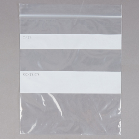 BAG PLASTIC QT ZIP CLOSURE & ELARA ZIP CLOSURE PLASTIC STORAGE BAGS  1 QUART 7