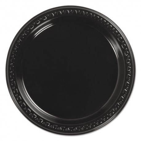 PLATE, PLASTIC, 7 BLACK, 8140