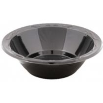 BOWL, PLASTIC, 12 OZ, BLACK,
