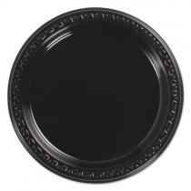 PLATE, PLASTIC, 9 BLACK, 8140