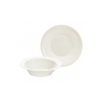 BOWL, FOAM, WHITE, 3.5 OZ, 35