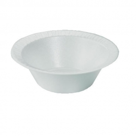 DART 5 OZ CONCORDE WHITE FOAM BOWL, 5BWWC, (1000)