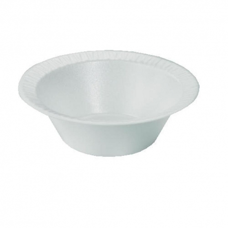 BOWL, FOAM, WHITE, 5 OZ, 5BWW