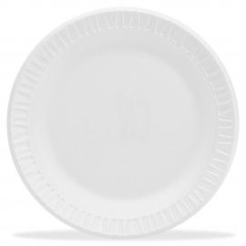 """DART 6"""" CONCORDE NON-LAMINATED WHITE FOAM PLATE, 6PWCR (1000)"""