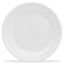 PLATE, FOAM, WHITE, 6 6PWC