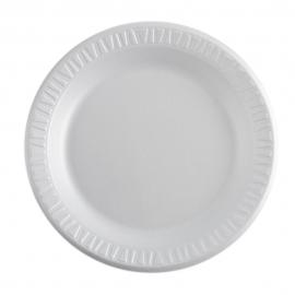 """DART 9"""" CONCORDE NON-LAMINATED WHITE FOAM PLATE,  9PWCR (500)"""