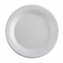 PLATE, FOAM, WHITE, 9 9PW