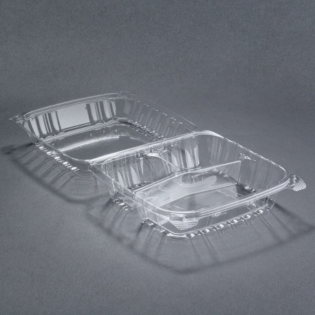 TO GO, PLASTIC, CLEAR, H/L, 3