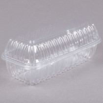 TO GO, PLASTIC, CLEAR, H/L C9