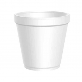 DART 16MJ20, 16 OZ WHITE FOAM CONTAINER, (500) USE ANY SIZE 20 LID