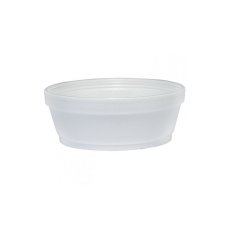 BOWL, FOAM, WHITE, 5 OZ, 5B20