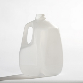 48 PLASTIC 1 GALLON JUGS WITH LIDS INCLUDED