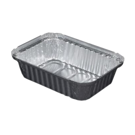 1.5LB FOIL OBLONG CONTAINER, 245-30-500 (500)