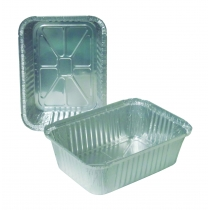 CONTAINER, FOIL, 5 LB, OBLONG,