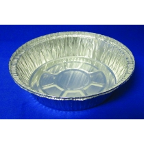 CONTAINER, FOIL, 7 ROUND, 527