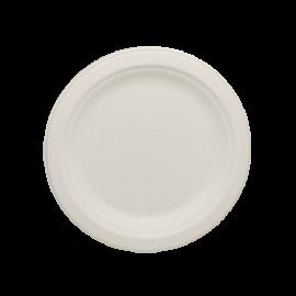 """KARAT BAGASSE, 6"""" BIODEGRADABLE PLATE, KE-BPR06-1C (1000/CS)"""