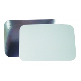 DPI FOIL/BOARD LID,  FOR 4 LB OBLONG CONTAINER, L240-250 (250)
