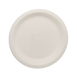 "KARAT BAGASSE, 7"" BIODEGRADABLE PLATE, KE-BPR07-1C (1000/CS)"