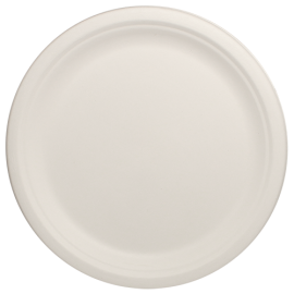 "KARAT BAGASSE, 10"" BIODEGRADABLE PLATE, KE-BPR10-1C (500/CS)"