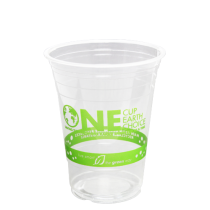 CUP, PLA, CLEAR, 16 OZ, *STOCK
