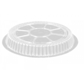 """DPI PLASTIC DOME LID , FOR 7"""" ROUND CONTAINER, P270-500 (500)"""