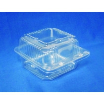 TO GO, PLASTIC, 6 H/L, CLEAR,