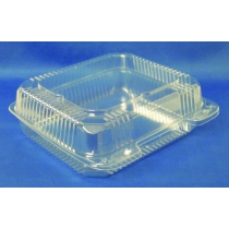 TO GO, PLASTIC, 8 H/L, CLEAR,