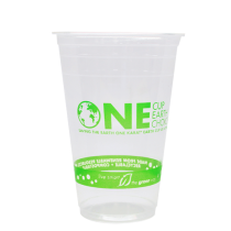 CUP, PLA, CLEAR, 20 OZ, *STOCK