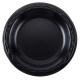 PLATE, FOAM, 10.25 BLACK, 501